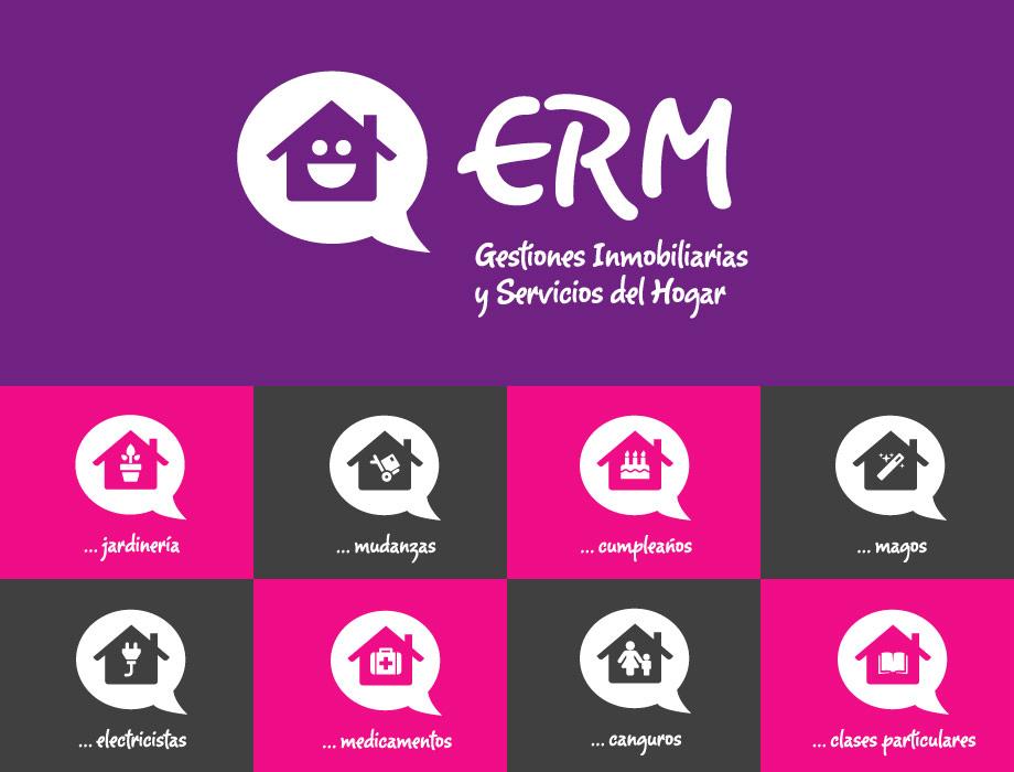 QuicoRubio.com > Logo ERM Inmobiliaria