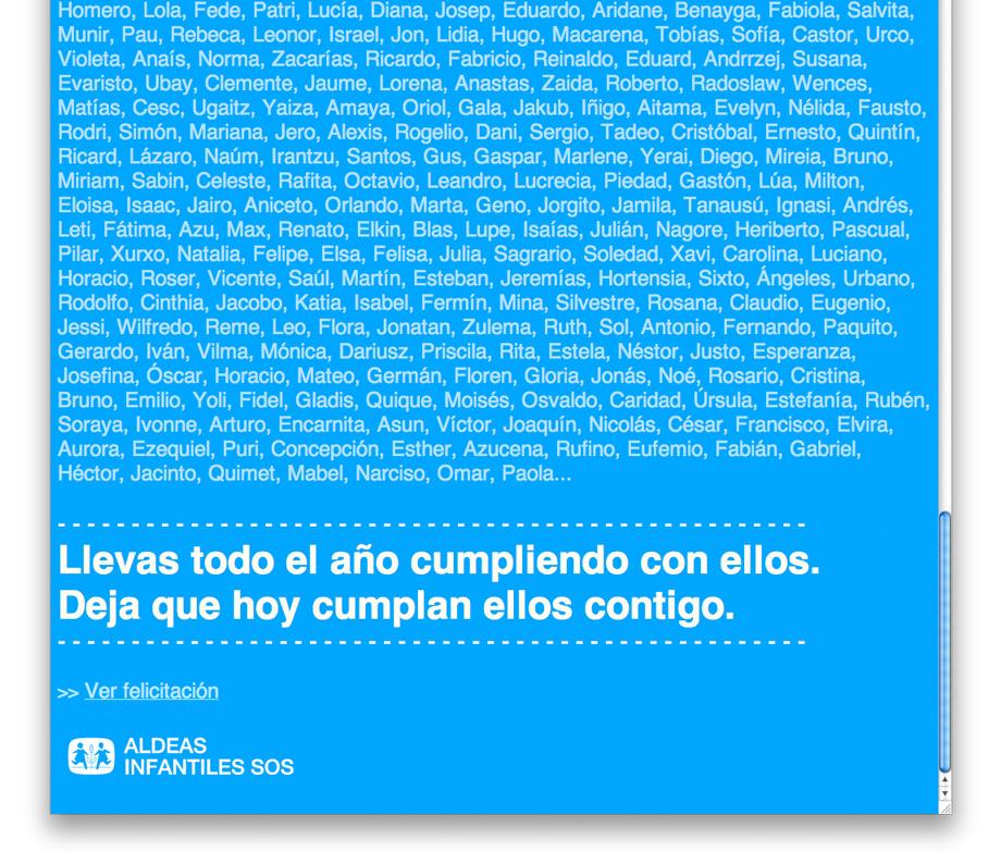 QuicoRubio.com > eMailing Cumpleaños Soci@s 3