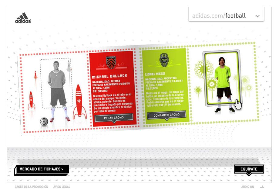 QuicoRubio.com > Adidas Football Album 6