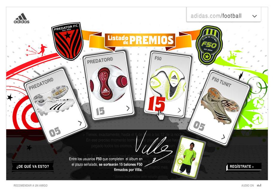 QuicoRubio.com > Adidas Football Album 7