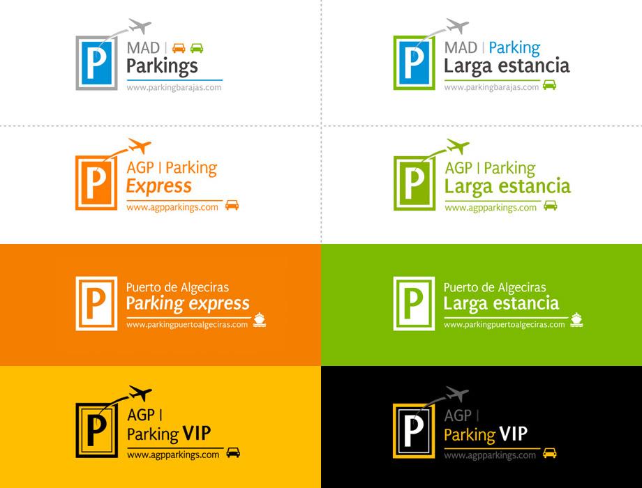 QuicoRubio.com > Logo Parkings Aeropuertos