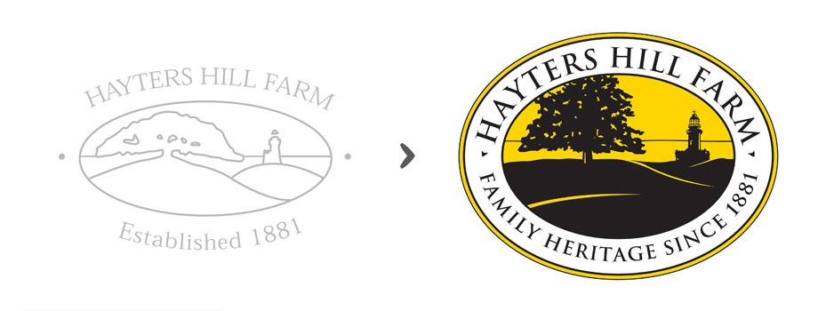 QuicoRubio.com > Hyters Hill Farm Logo
