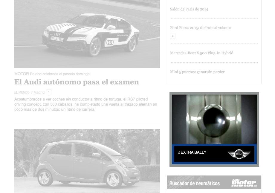 QuicoRubio.com > MINI Clubman Pinball 1