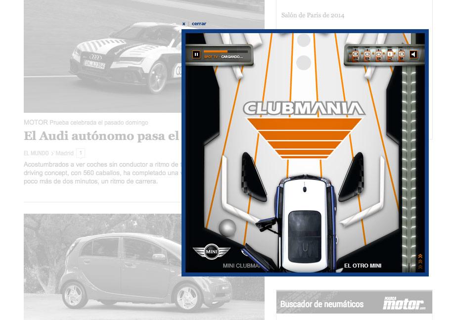 QuicoRubio.com > MINI Clubman Pinball 4