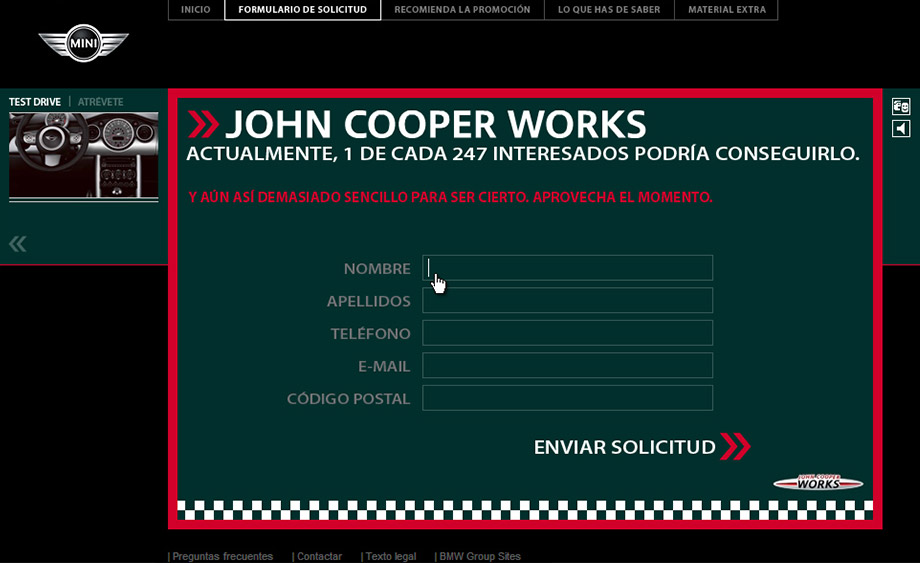 QuicoRubio.com > MINI John Cooper Works 5