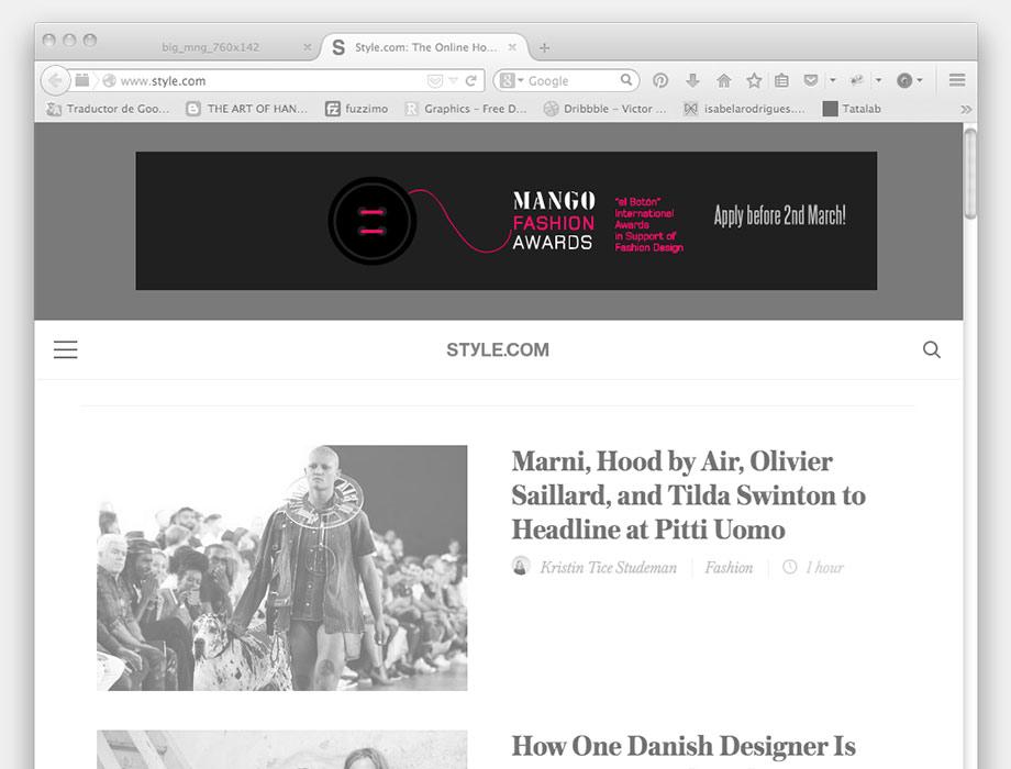 QuicoRubio.com > MANGO Fashion Awards 4