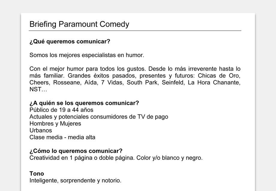 QuicoRubio.com > Paramount Comedy 1
