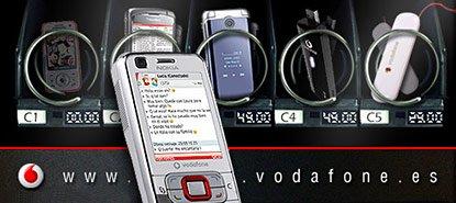 QuicoRubio.com > Vodafone Vending Machine