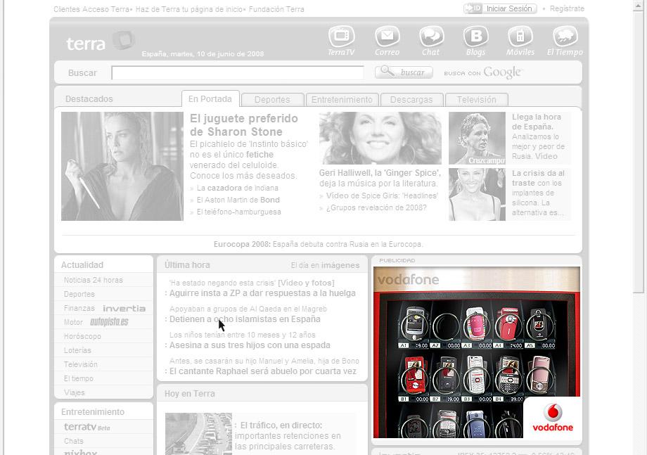 QuicoRubio.com > Vodafone Vending Machine 1